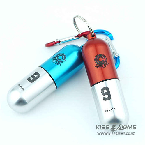 Dragon Ball Capsule Keychains