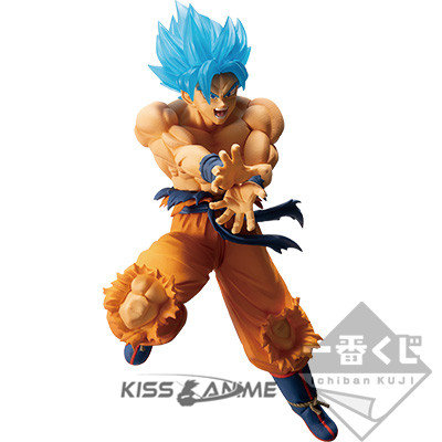 Ichiban Kuji Dragon Ball – Super Saiyan Battle - Goku Blue