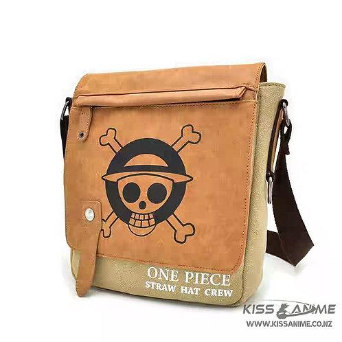 One Piece Canvas Messenger Bag