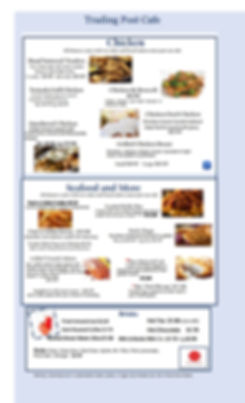 Chicken menu with new look july  18-conv