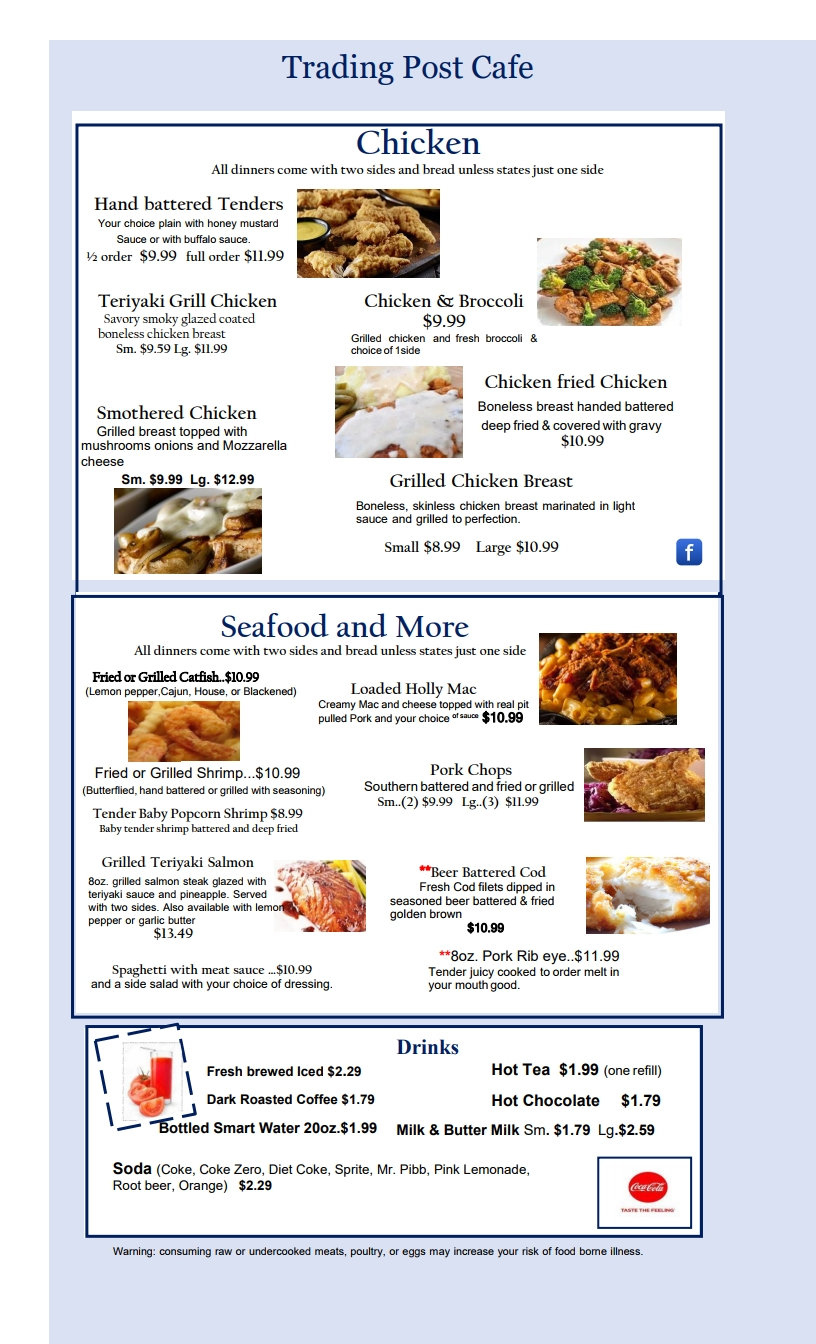 Chicken menu with new look july  18-conv
