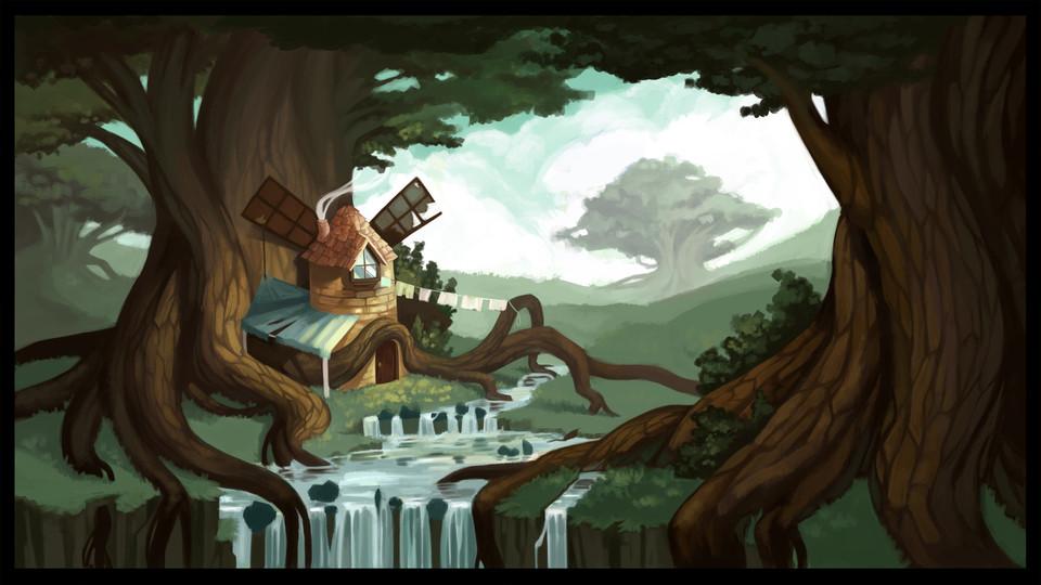 Irinushka's home