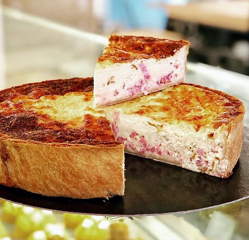 Quiche Lorraine BO&MIE - meilleure Boulangerie Paris
