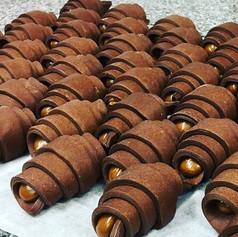 Croissant chocolat praliné