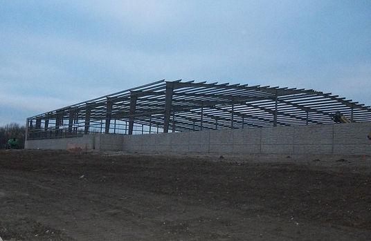 Frame for Large Warehouse