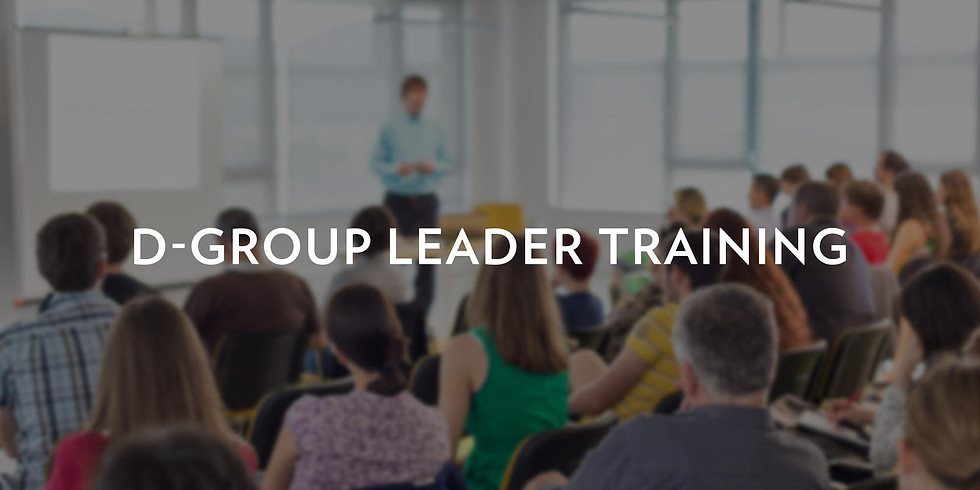 D-Group Leader Training