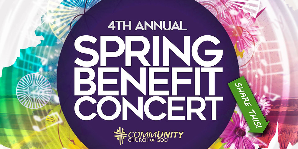 4th Annual Spring Benefit Concert