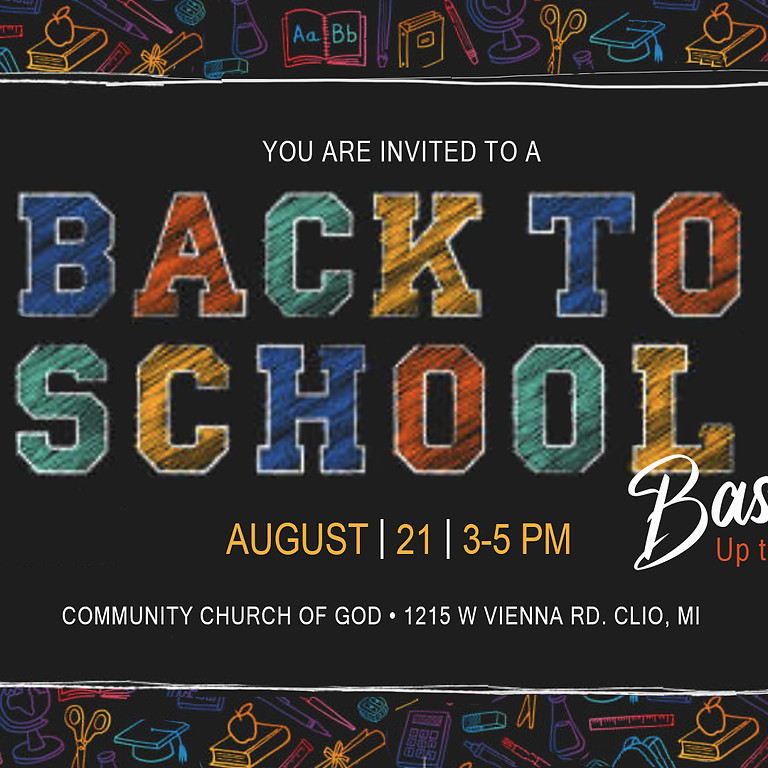 Back to School Bash - Up to 5th Grade