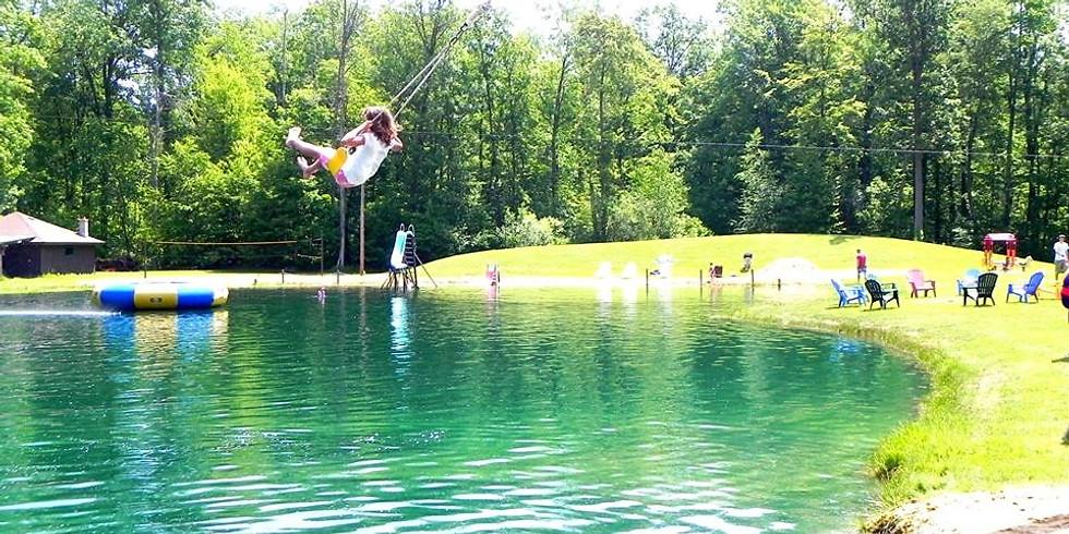Baptisms at Sebold Pond