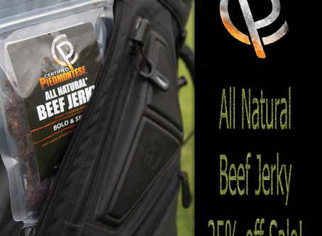 The Perfect Spring and Summer Snack: All-Natural Beef Jerky