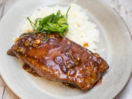 Mongolian-Style Beef & Rice