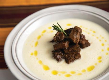 Creamy Potato & Beef Soup