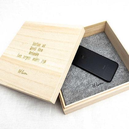 Telefoon doos • Offline verbinden