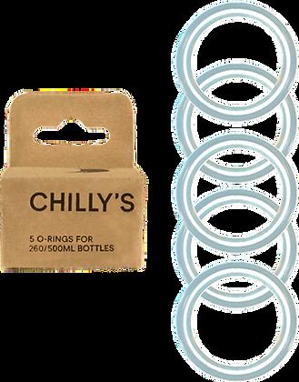 Box of 5 O-rings for 750ml bottles