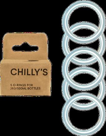 Box of 5 O-rings for 260 & 500ml bottles