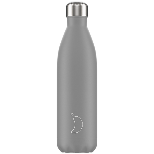 Chilly's Bottle 750ml Monochrome Grey