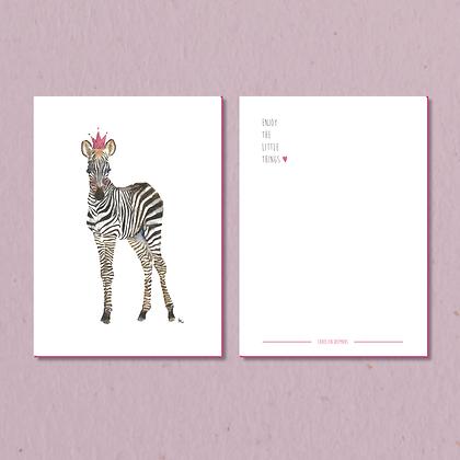Zebra kaart