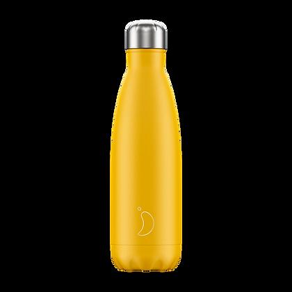 Chilly's Bottle 500ml Matte Burnt Yellow