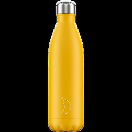 Chilly's Bottle 750ml Matte Burnt Yellow