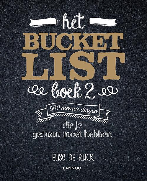Het Bucketlist boek 2