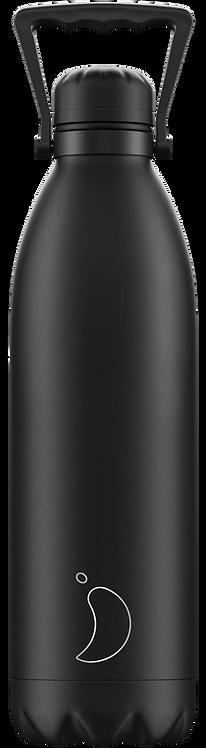 Chilly's Bottle 1.8 Ltr Monochrome All Black