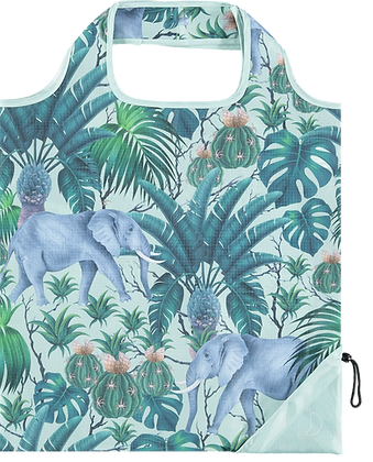 Tropical Elephant Reusable Bag