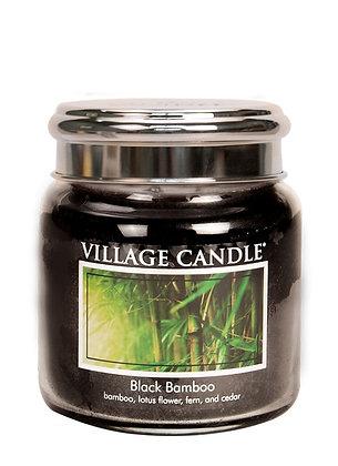 Black Bamboo 454gr Medium Candle