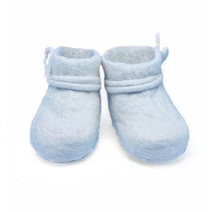 Babyschoentjes blauw