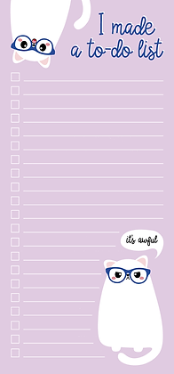 TO DO BLOK 10 × 21 CM GRUMPY CAT