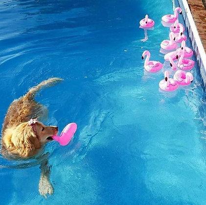 Bekerhouder flamingo roos