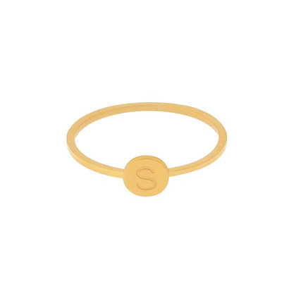 Ring - Initial (gold)
