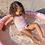 Thumbnail: Baby zwembad Roze zebra 100 cm