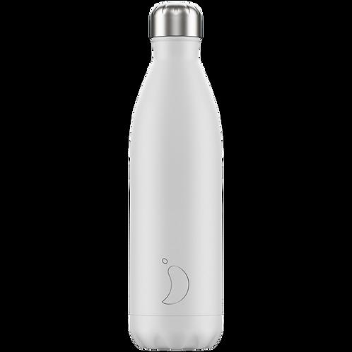 Chilly's Bottle 750ml Monochrome White