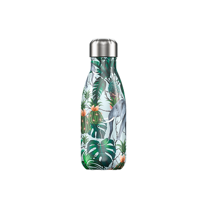 Chilly's Bottle 260ml Tropical Elephant