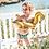Thumbnail: Zwemring gouden zwaan