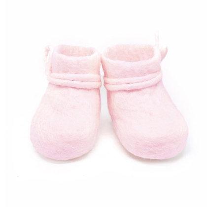 Babyschoentjes roze