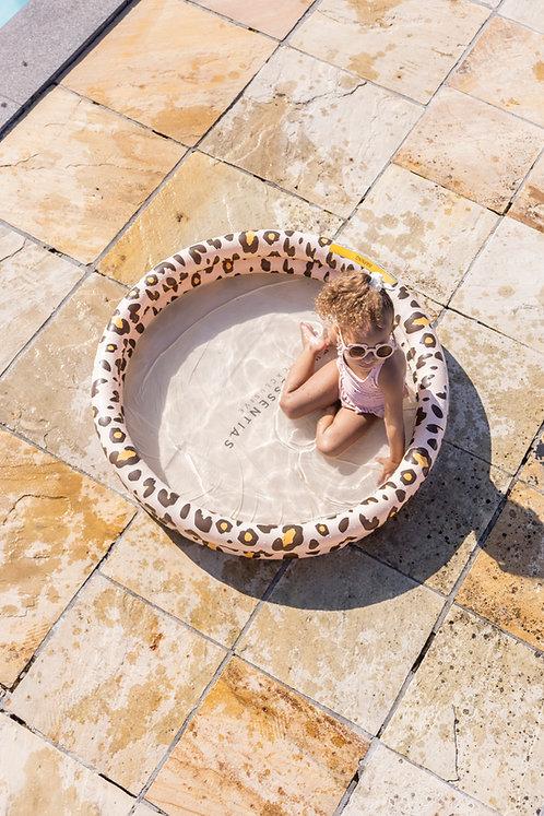 Luxe Beige Leopard baby swimming pool ⌀100 cm