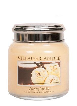 Creamy Vanilla 454gr Medium Candle (pre-order*)