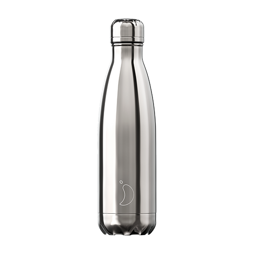 Chilly's Bottle 500ml Silver
