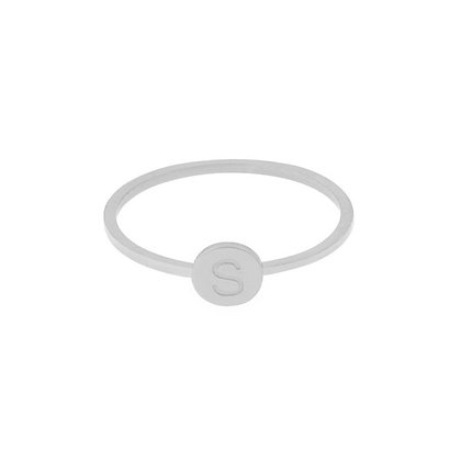 Ring - Initial (silver)