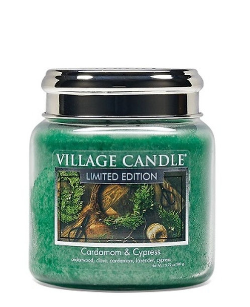 Cardamon & Cypress 454gr Medium Candle (pre-order*)