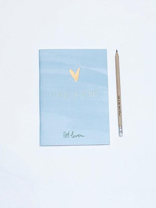 Schrift • lichtjes in je hart