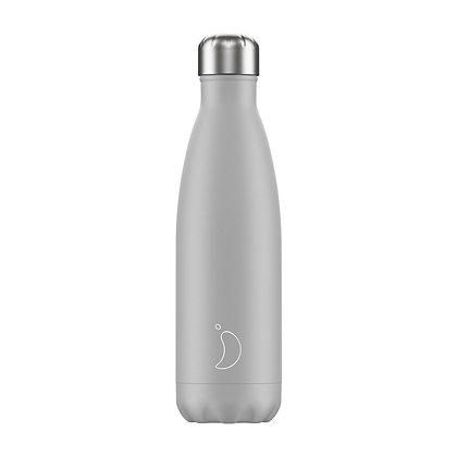 Chilly's Bottle 500ml Monochrome Light Grey