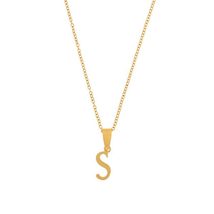 Necklace - Initial Long (gold)*