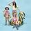 Thumbnail: Zwemband gouden zwaan