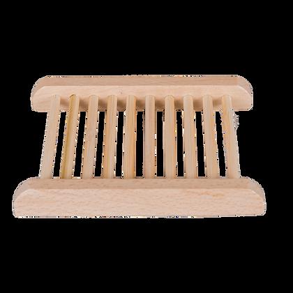 Shampoo Bar / Zeep Houder van licht Hout