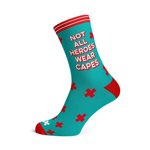 Sokken • NOT ALL HEROES WEAR CAPES mint 42-46