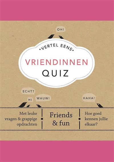 Vriendinnen Quiz - Elma van Vliet
