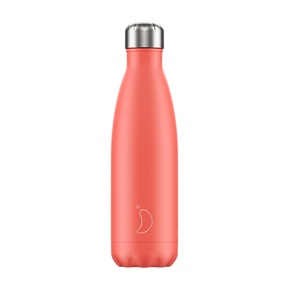 Chilly's Bottle 500ml Pastel Coral
