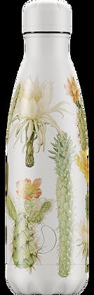 Chilly's Bottle 500ml Botanical Cacti